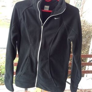 Womans Nike fleece jacket.